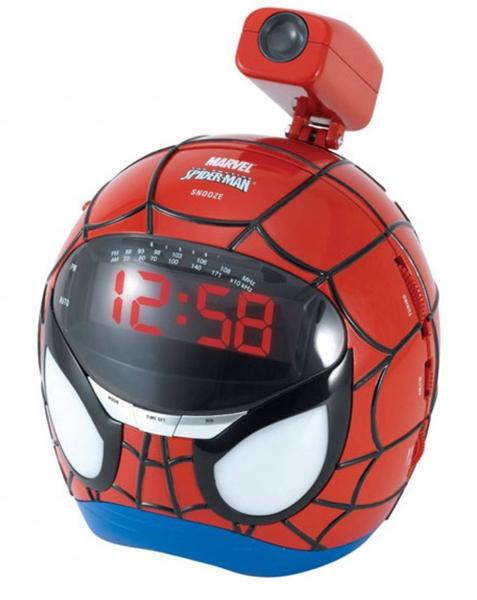 Radio cu ceas Spiderman RP160SP