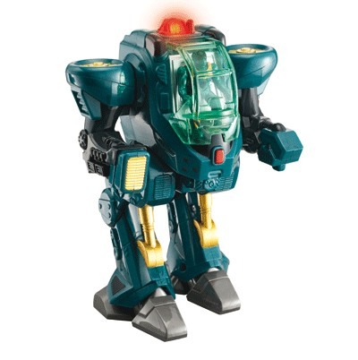 Robot transport de pe marte verde