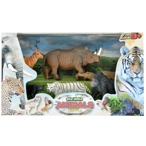 Set mare figurine Animale salbatice