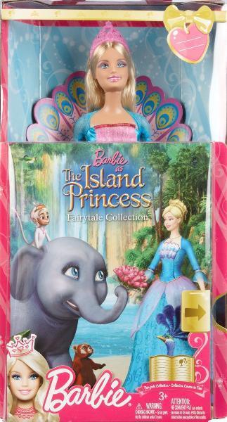 SET PAPUSA SI CARTE - Barbie in Printesa