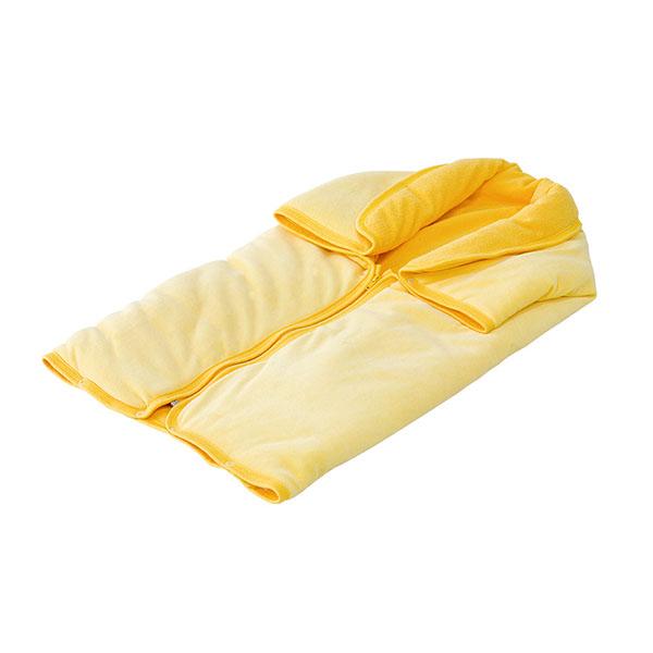 Sac de dormit si patura Chipolino yellow