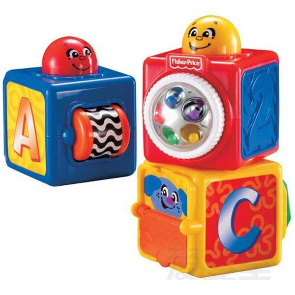 Set Joaca 3 Cuburi Vesele