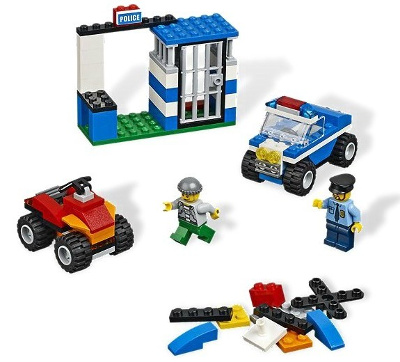 Set LEGO politie din seria LEGO BRICKS