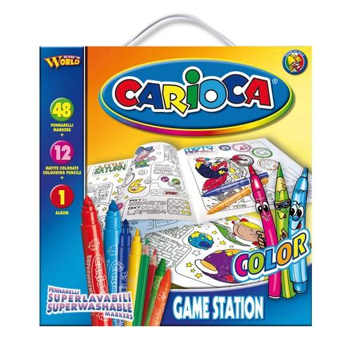 Set de Colorat Game Station Colour Cario