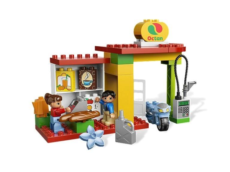 Statia de benzina din seria LEGO Duplo
