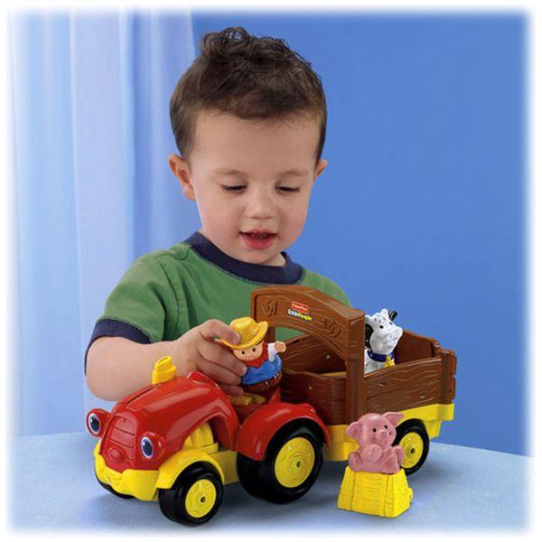 Tractor cu figurine Little People