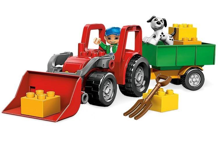 Tractor mare din seria LEGO DUPLO