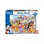 Puzzle Parada Personajelor Disney 200 Piese