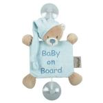Semn de avertizare Baby on Board ursuletul Milo