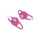Semnalizatoare luminoase pentru carucioare si biciclete Proviz roz