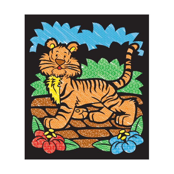 Carnet de colorat Catifeaua magica - Animale