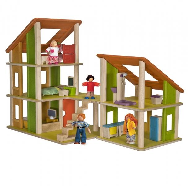 Castel papusi cu mobilier