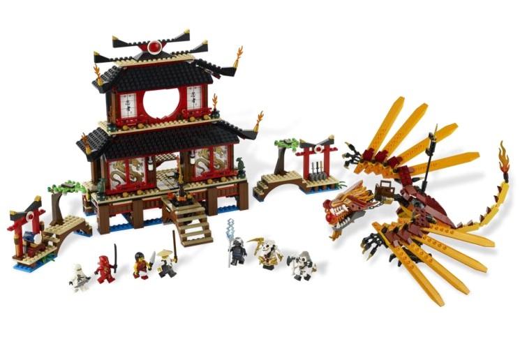 Fire Temple - din seria LEGO NINJAGO