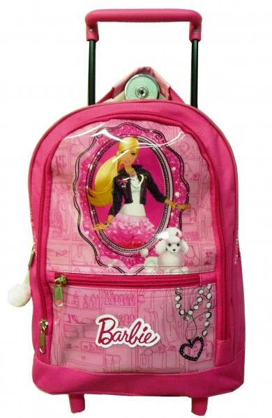 Poza Ghiozdan troller Barbie