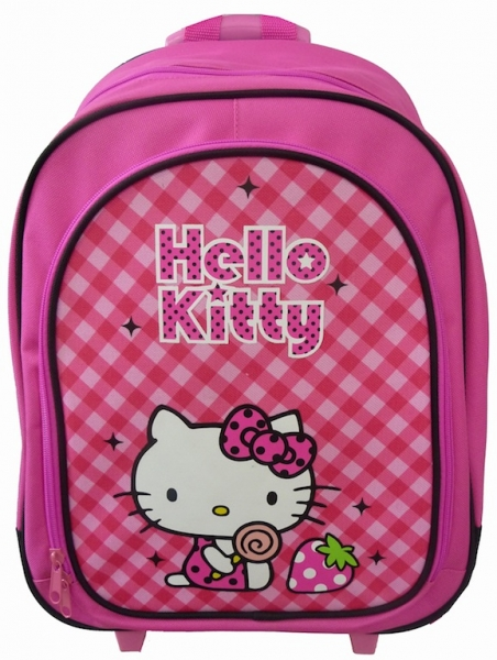 Poza Ghiozdan troller Hello Kitty
