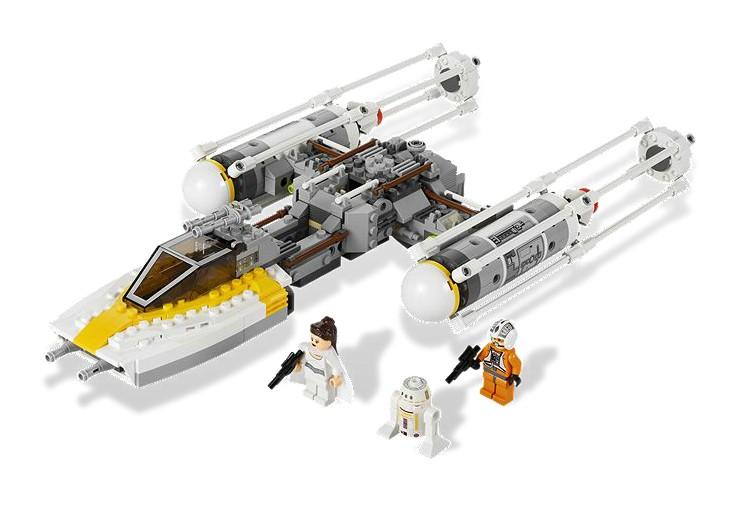 Poza Gold Leaders Y-Wing Starfighter (9495