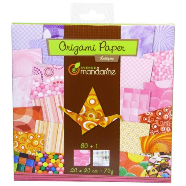 Hartie Origami Lollipop