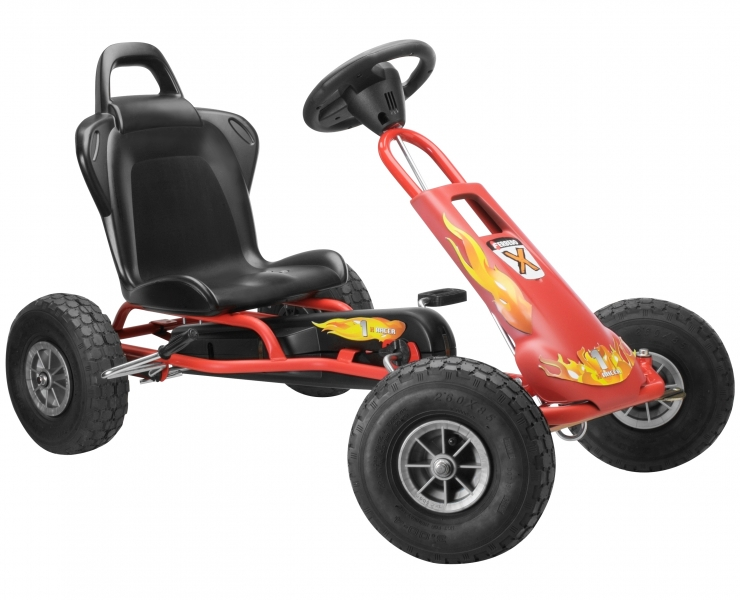Kart cu pedale Ferbedo Air Runner Red