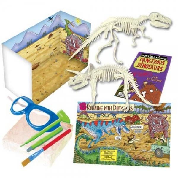 Kit experimente dinozaurii Dangerous