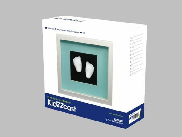 Kit mulaj bebelus My First Exclusive 3D,natur, Kidzzcast