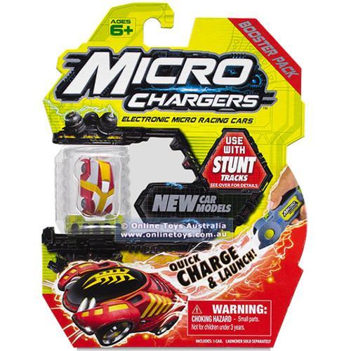 Micro Chargers Set Rezerva Stunt Tracks Seria 2