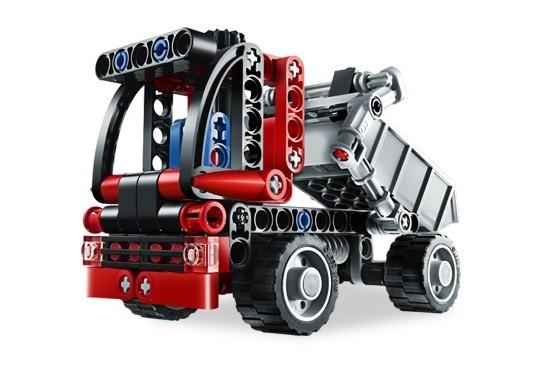 Mini container truck (8065)