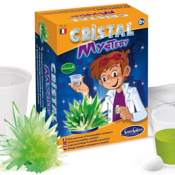 Misterul cristalelor Verde