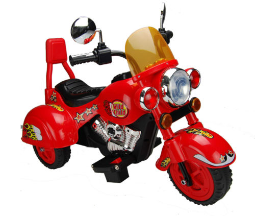 Motocicleta Electrica B19 Rosu