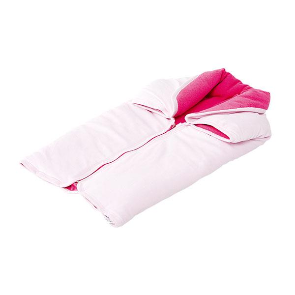 Sac de dormit si patura Chipolino pink 2