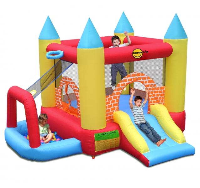 Saltea gonflabila Happy Hop Play Center 4 in 1