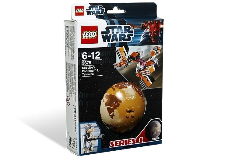 Sebulbas Podracer Tatooine din seria STAR WARS
