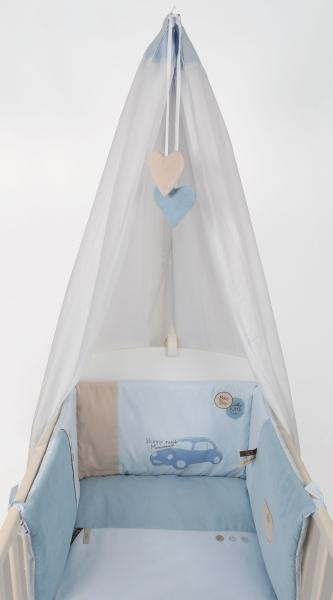 Lenjerie Pentru Patut Copii Set 4 Piese Petit Dandy