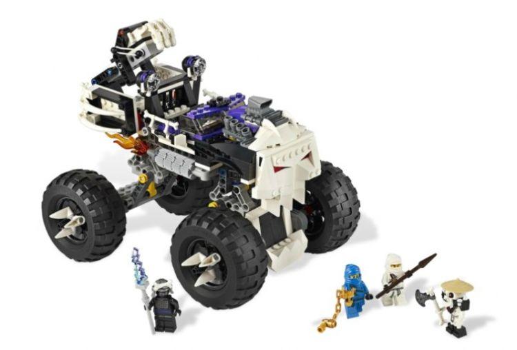 Skull Truck - din seria LEGO NINJAGO