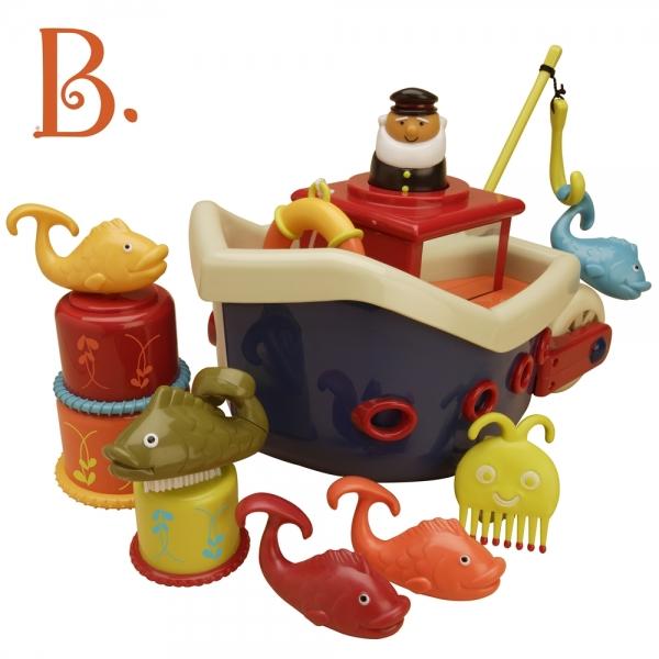 Vapor de pescuit B.Toys