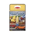 Carnet de colorat Apa Magica - Vehicule