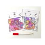 Colorblast - Caiet de activitati cu printese