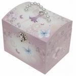 Cutie muzicala cu perle Parme - Printesa