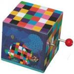 Mini cutie muzicala Elmer cu manivela