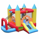 Saltea gonflabila Happy Hop Play Center 4 in 1