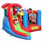 Spatiu de joaca gonflabil Happy Hop Play & Slide