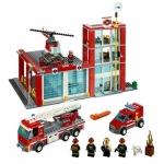 Statia de pompieri din seria LEGO City