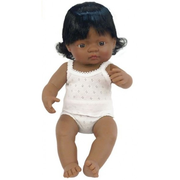 Baby hispanic (fata) Papusa 40cm