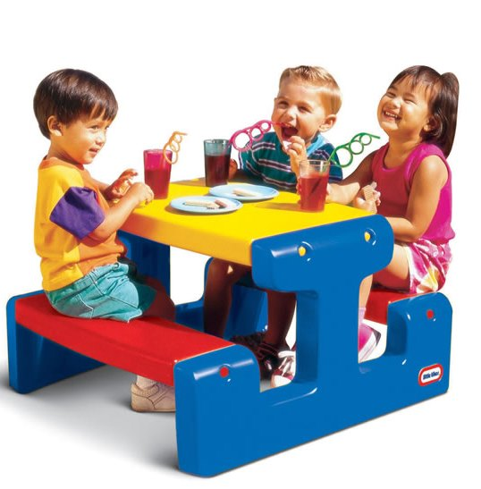 Bancheta picnic cu 4 locuri