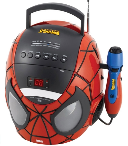 Boombox Karaoke Spiderman K11SP