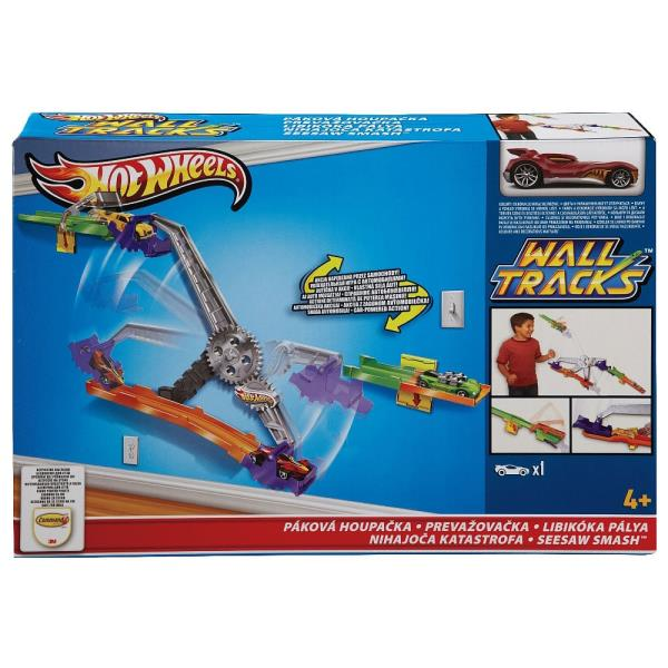 Circuite de perete Hot Wheels - SEESAW SMASH