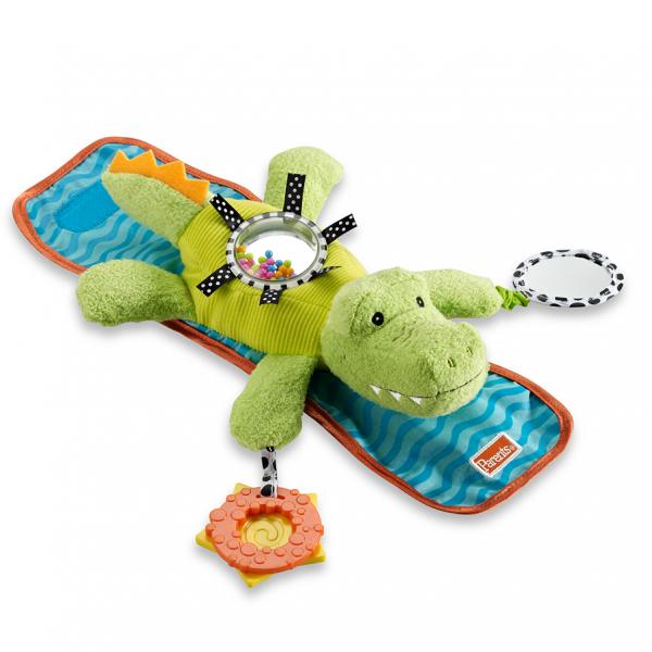 Crocodil de agatat Manhattan Toy