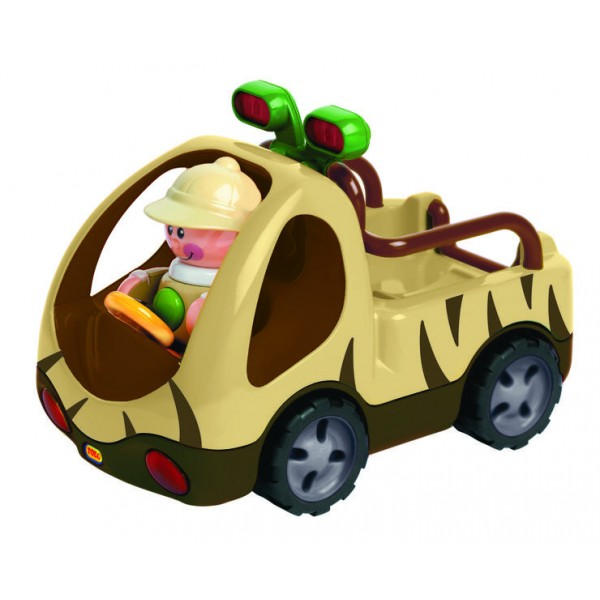 Masinuta Safari First Friends - Tolo Toys
