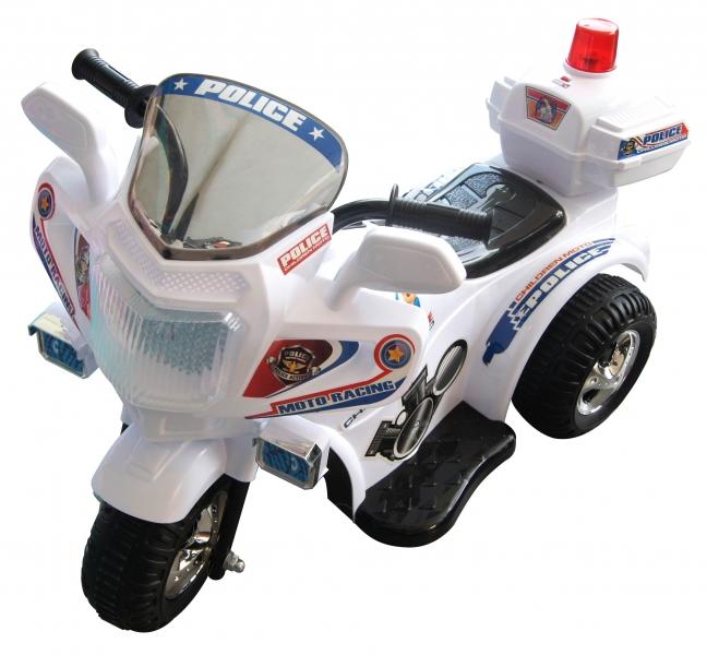 Motocicleta electrica Chipolino Police white
