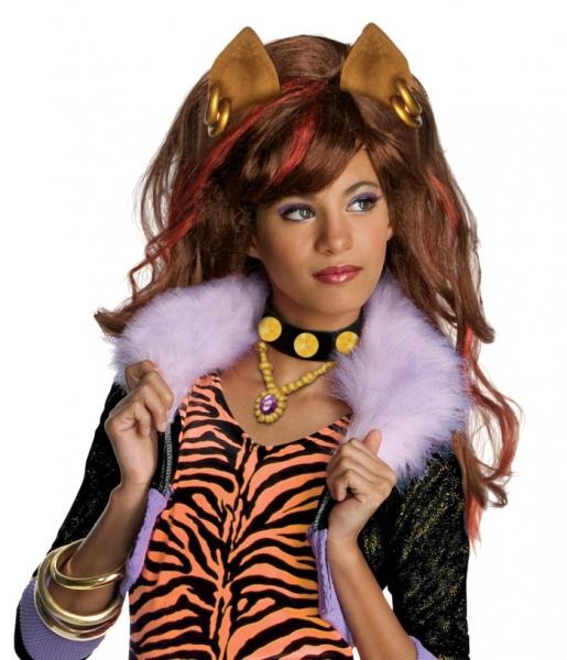 Peruca Clawdeen Wolf - Monster High