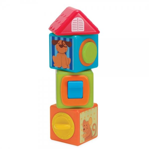 Povestea cuburilor Manhattan Toy